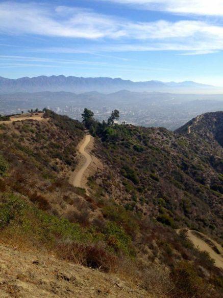 The San Gabriel Mountains beckon
