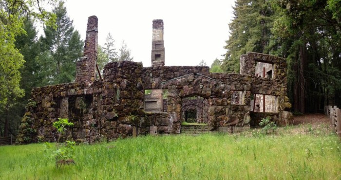 Jack London's Wolf House Ruins