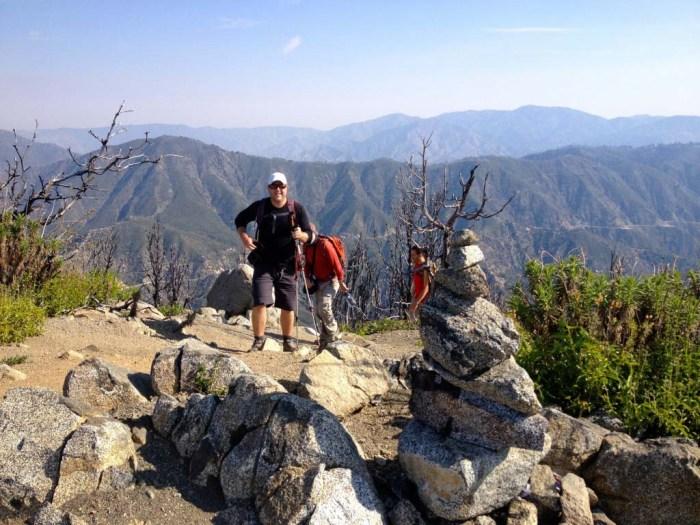 Atop San Gabriel Peak
