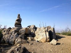 Cairn on San Gabriel Peak