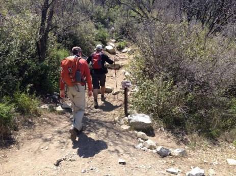 Mt Lowe trail