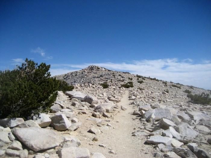 Last push to the summit of Gorgonio