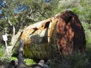 Rusty old tank