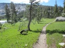 Heading to Sunrise High Sierra Camp