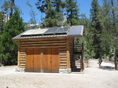 Latrines at Little Yosemite Valley