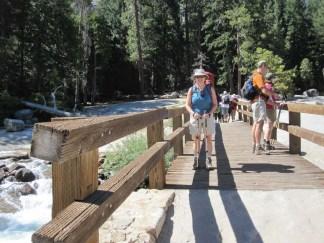 Bridge near Nevada Falls