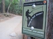 Got permits for Half Dome?
