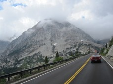 Heading up to Tioga Pass
