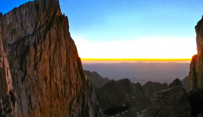 Sunrise Panorama on Whitney