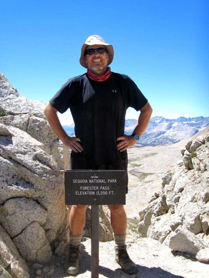SoCal Hiker on Forester Pass