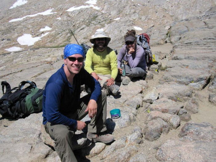 Party on Pinchot Pass