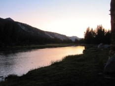 Twilight at McClure Meadow