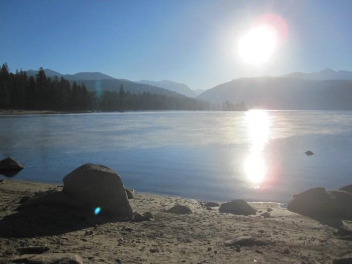 Lake Edison from VVR