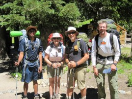 JMT Crew, Resupplied and Ready