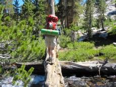 Crossing Rush Creek