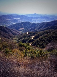 View from the Verdugo Motorway trail