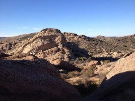 On the PCT at Vasquez Rocks