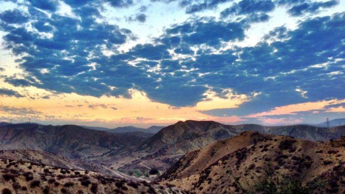 Sunrise at Haskell Canyon Open Space