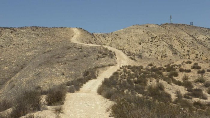 Steep Hill at Haskell Canyon Open Space