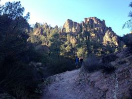 Pinnacles from Condor Gulch