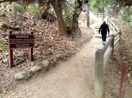 Temescal Ridge Trailhead