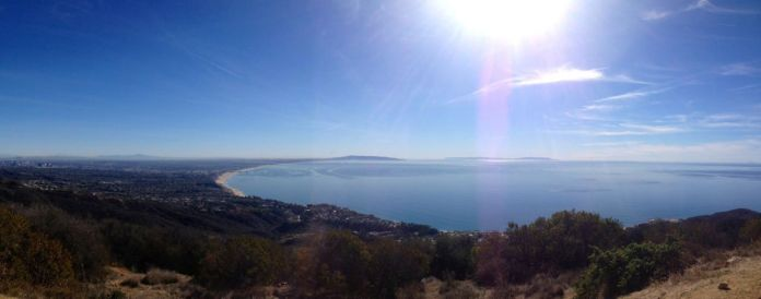 Parker Mesa Overlook Panorama