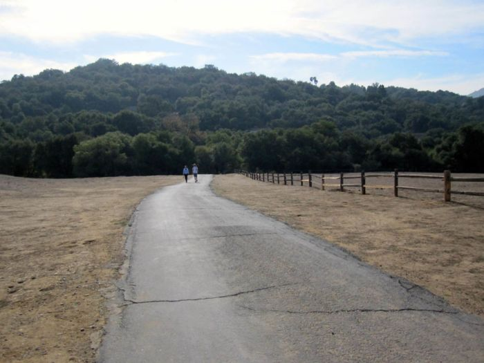 Paved Path to Trippet Ranch