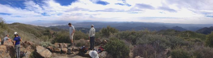 At the Summit of Los Pinos