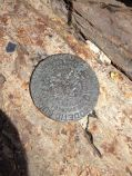 Los Pinos Summit USGS Benchmark