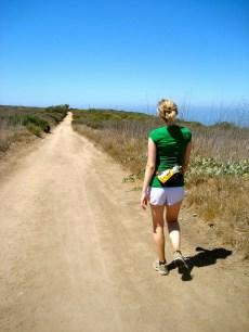 Bethany hiking