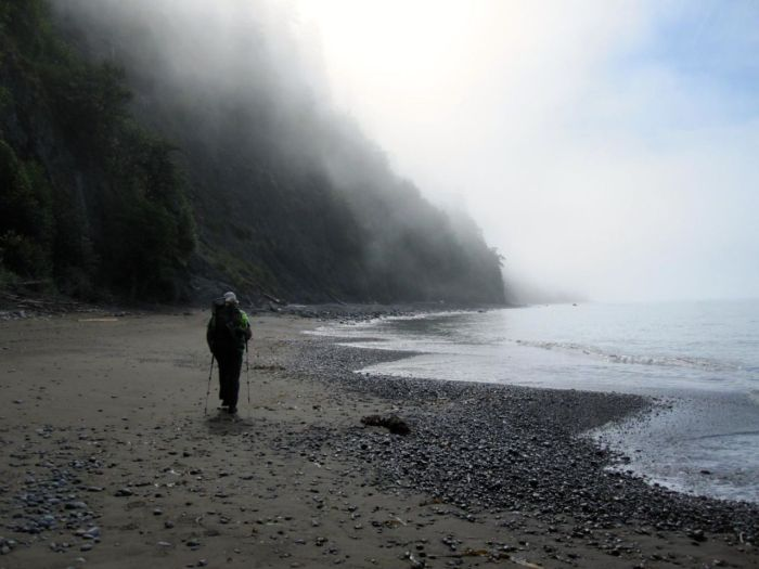 Last Day on the Lost Coast Trail