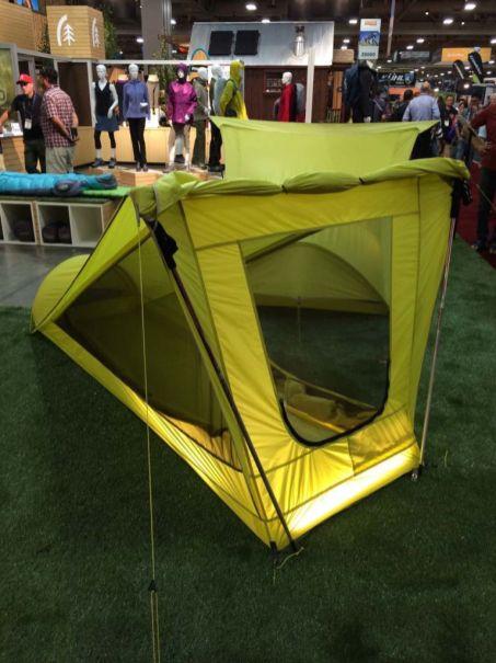 Sierra Designs innovative Tensegrity Tent
