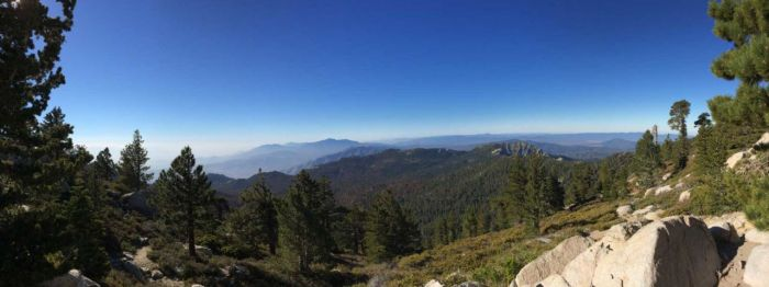 View from Wellman's Divide