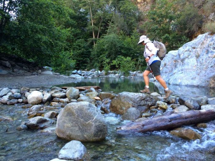 Crossing the East Fork