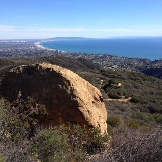 Above Skull Rock