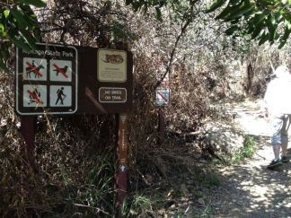 No Dogs in Topanga State Park