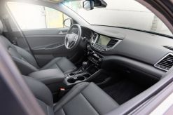 Front seat area in the 2016 Hyundai Tucson