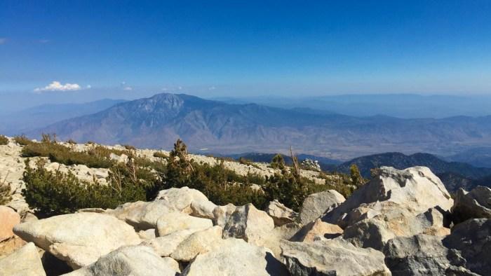 Great views of San Jacinto from peak nine - San Gorgonio