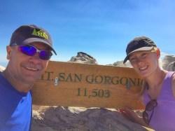 Dave and Jen on San Gorgonio
