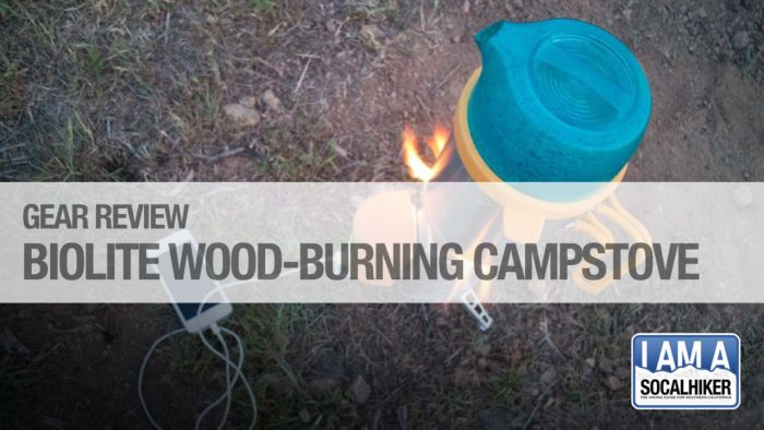 Testing the BioLite wood-burning camp stove and grill in Big Sur