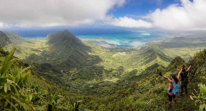 Pu'u Ohulehule on Oahu