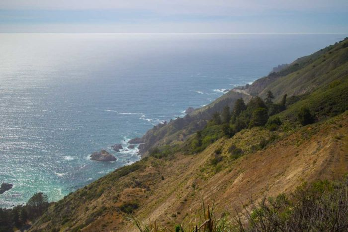 Amazing views of McWay Rocks and the Big Sur coastline from the Ewoldsen Trail