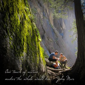 Poster - One touch of nature makes the whole world kin. - John Muir