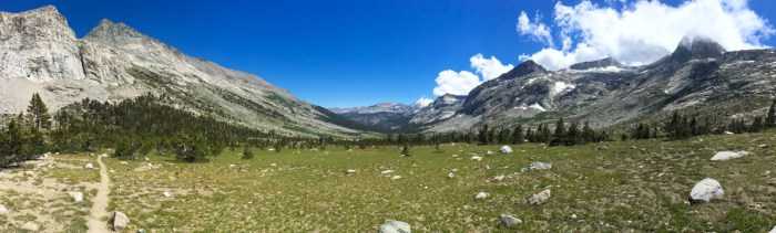 Day 2 on the High Sierra Trail - Bearpaw to Big Arroyo