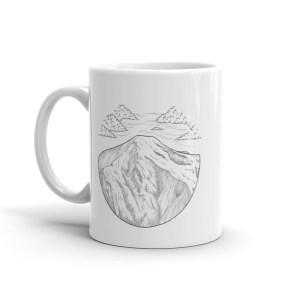 San Bernardino Peak Mug