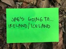 Going to Ireland & Iceland