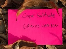 Cape Solitude