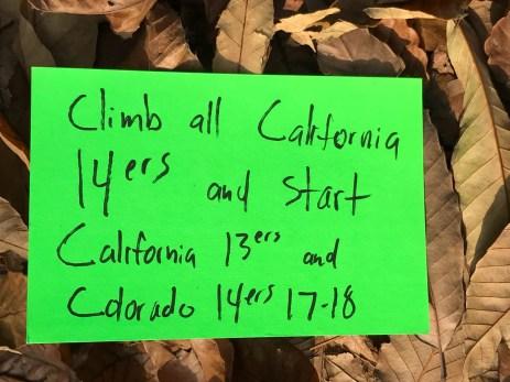 All California 14ers