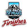 2017 Six-Pack of Peaks Finisher - Level 1