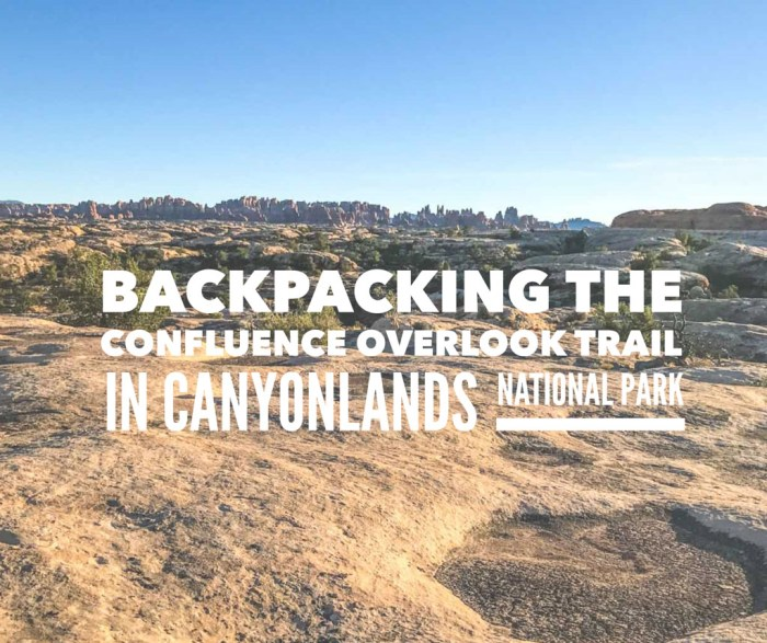 Hiking the Confluence Overlook Trail in Canyonlands NP